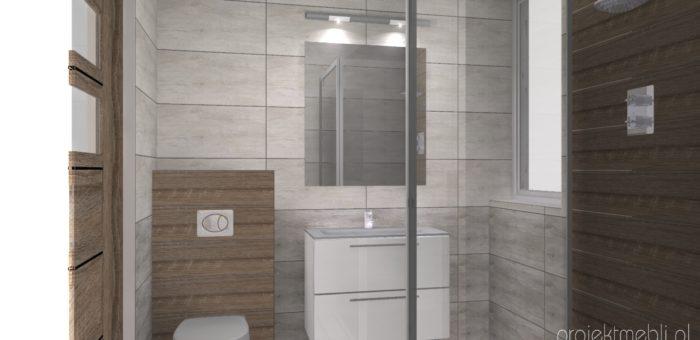 Mała łazienka z prysznicem Lublin