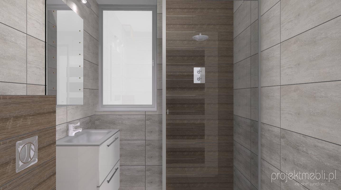 Mała łazienka Z Prysznicem Lublin Projektmeblipl
