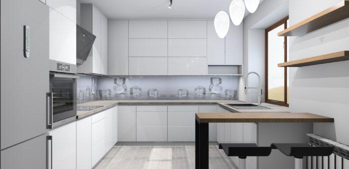 Kuchnia SANOK loft projekt